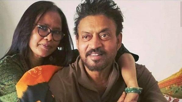 Sutapa Sikdar with late husband Irrfan Khan.