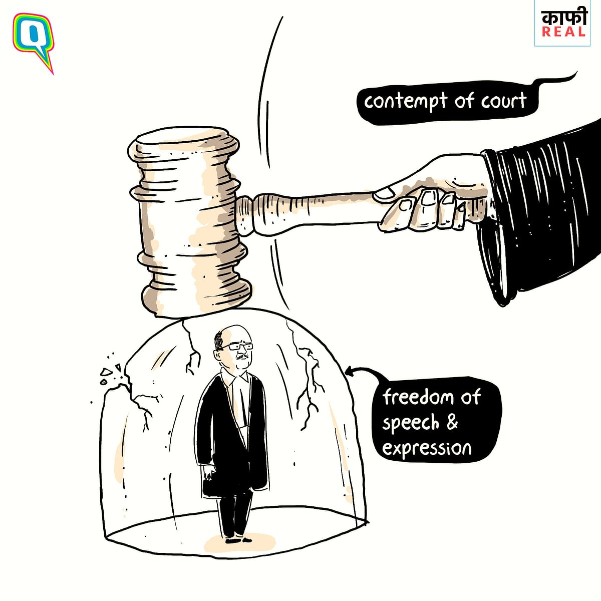 Kaafi Real: Contempt of Court Amid Freedom of Speech & Expression