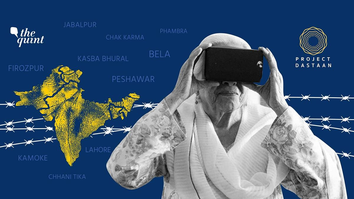 Taking India-Pakistan Partition Witnesses Back Home Through VR