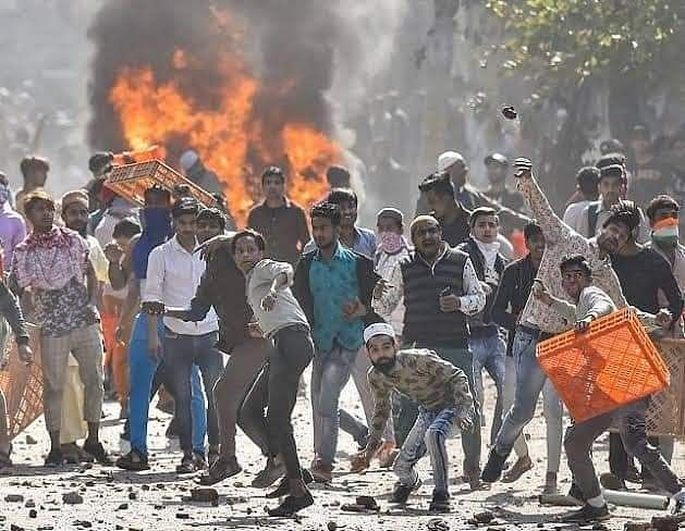 Images From Bengaluru Violence? No, They are From Northeast Delhi