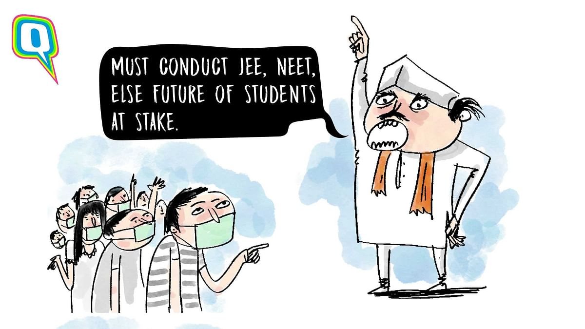Govt Adamant on Conducting JEE & NEET, But the Risk is Kaafi Real!