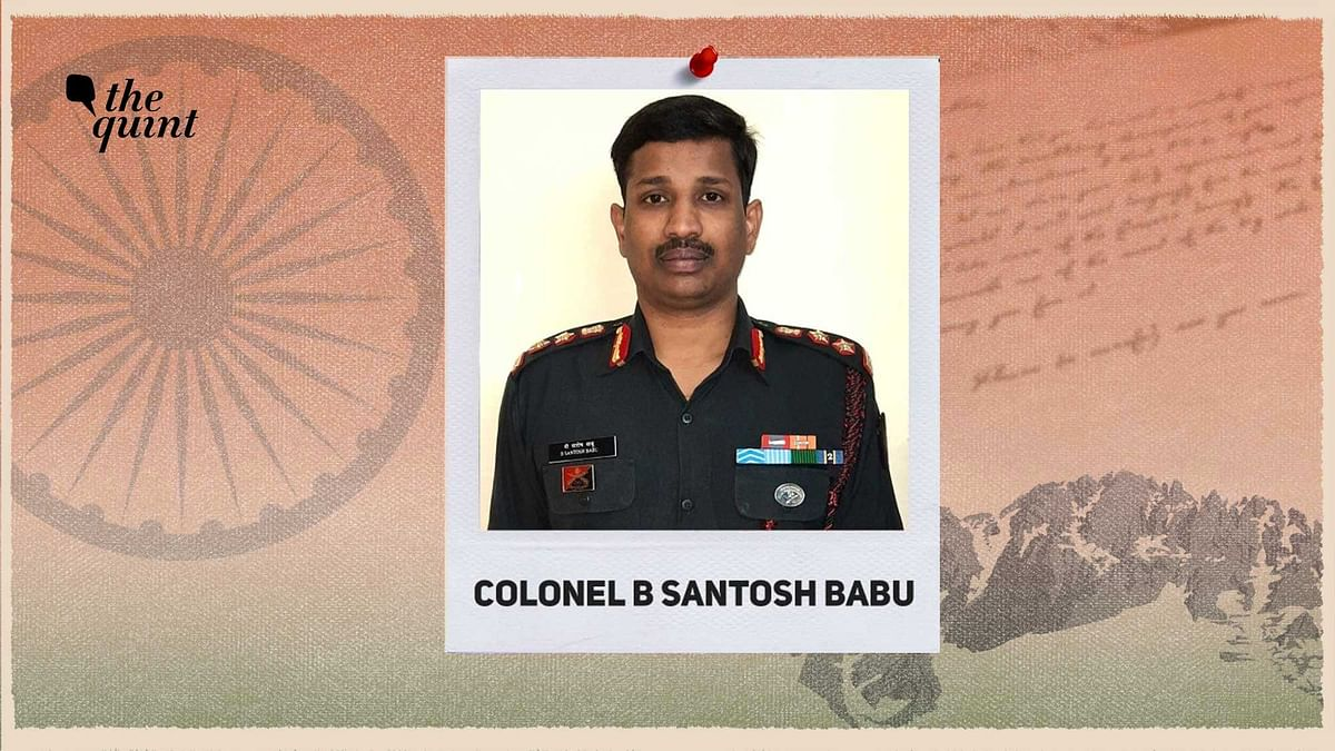 'Be Brave': Galwan Martyr Col Santosh Babu's Last Words To Wife