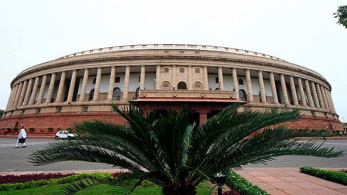 A fire broke out on the sixth floor of the Parliament Annexe Building in Delhi on Monday, 17 August, ANI reported.