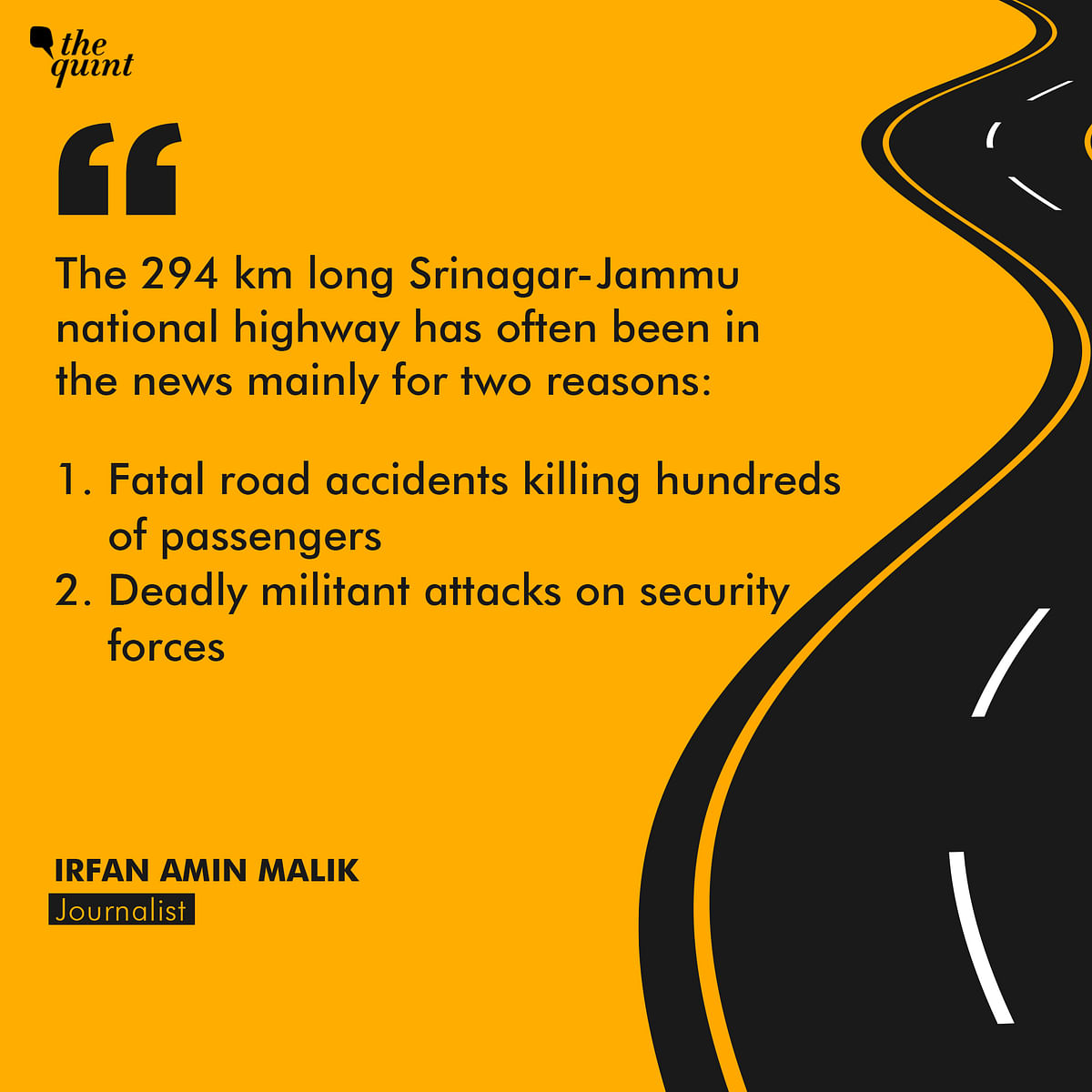 Why Is Jammu-Srinagar Highway A 'Death Trap' For Security Forces?