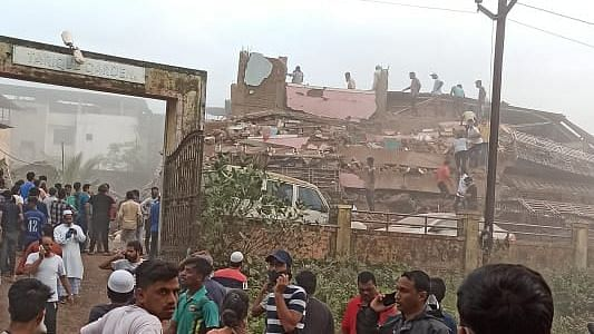 12 Dead as 5-Storey Building Collapses in Maha's Raigad, Ops On