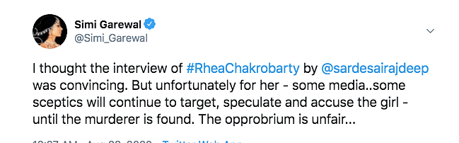 Sorry Rhea: Twitter Reacts to Actor's Interview, Lauds Her Courage