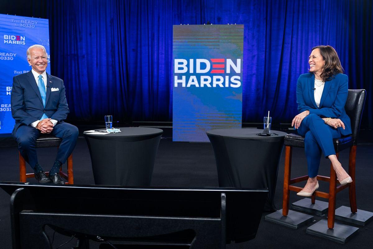 Image of Joe Biden and Kamala Harris.
