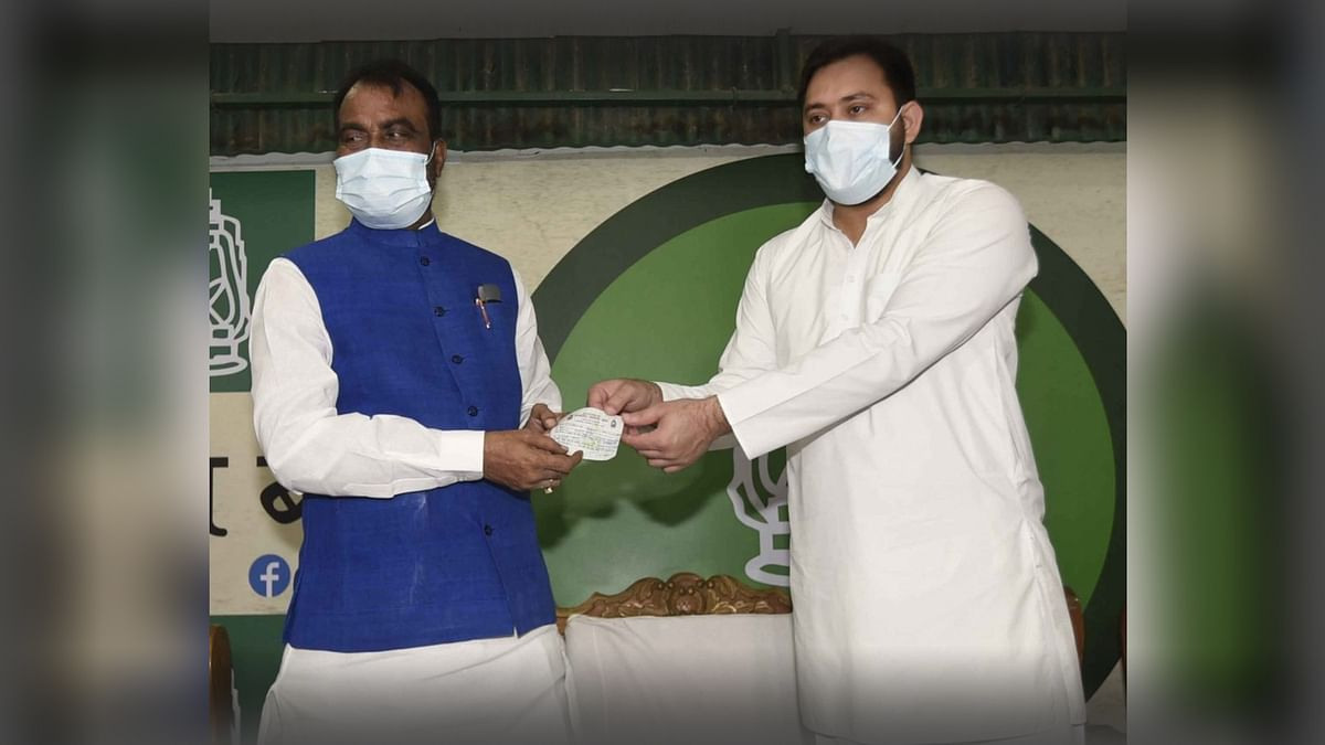 'Nitish Kumar Not Pro-Dalit': Ex-Bihar Min Shyam Rajak Back in RJD