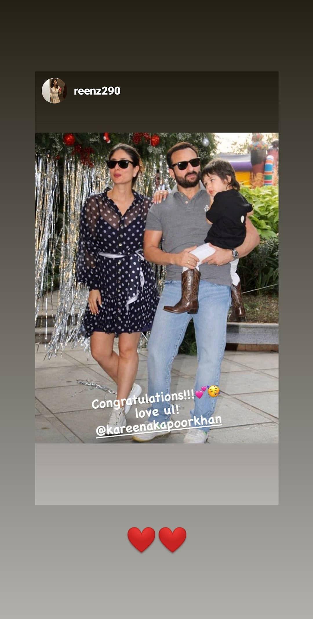 Rhea, Riddhima, Soha Congratulate Parents-To-Be Saif & Kareena
