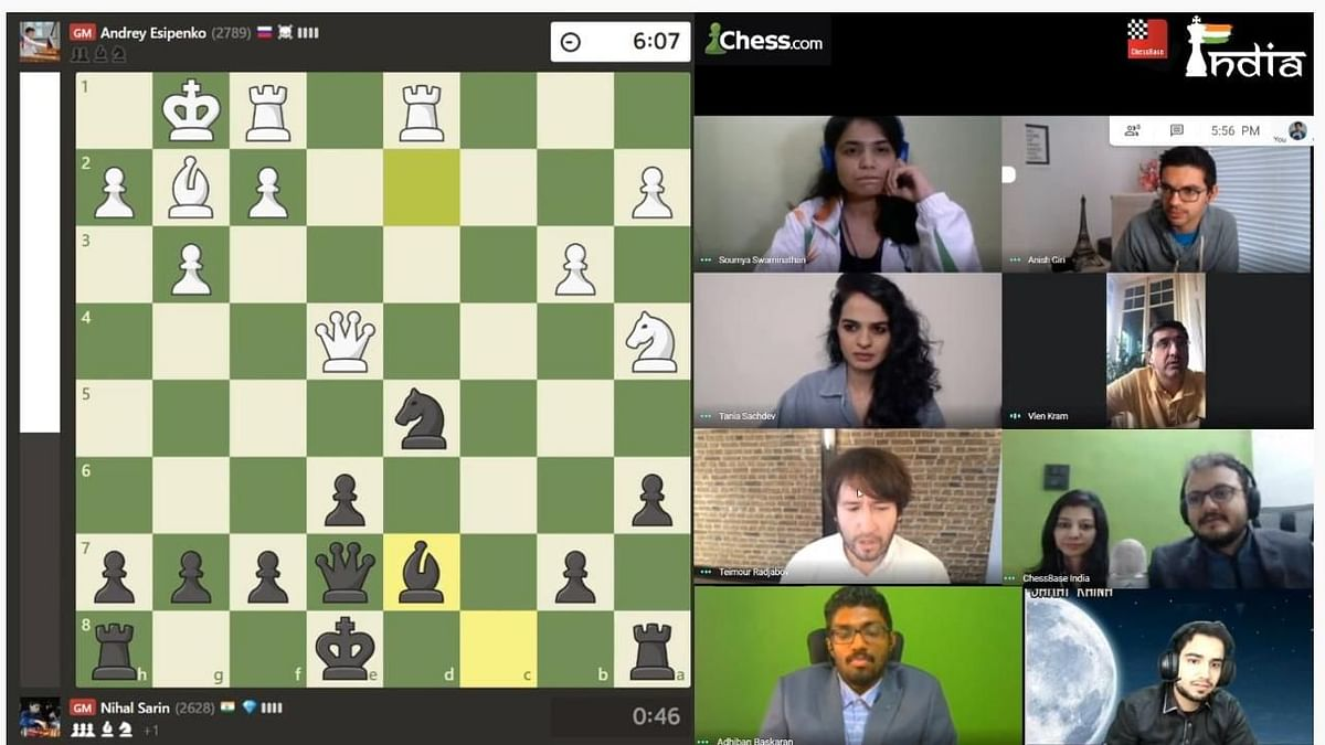 India, Russia Awarded Gold Medal in FIDE Online Chess Olympiad