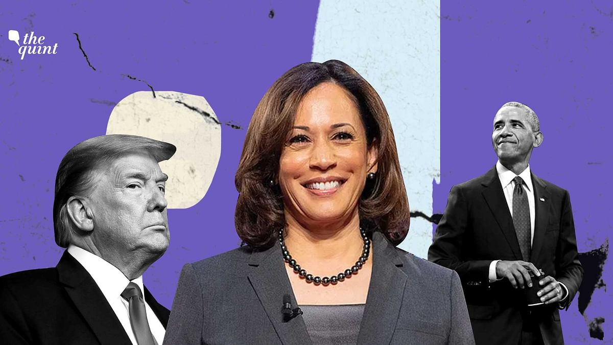 """Last week, Donald Trump <a href=""""https://www.thequint.com/news/world/trump-promotes-false-claim-about-harris-not-being-a-us-citizen"""">stoked rumours</a> that questioned Kamala Harris' eligibility to be America's Vice-President, based on her parents' immigration status at the time of her birth."""