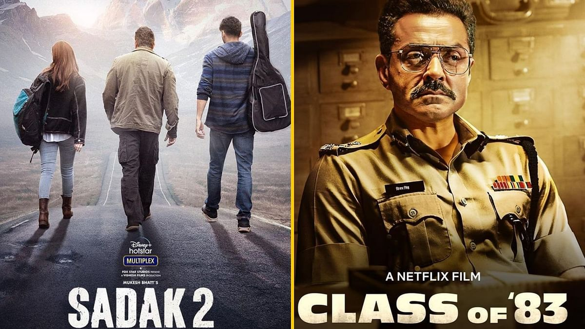 Here's When 'Sadak 2' & 'Class of 83' Are Set to Premiere on OTT