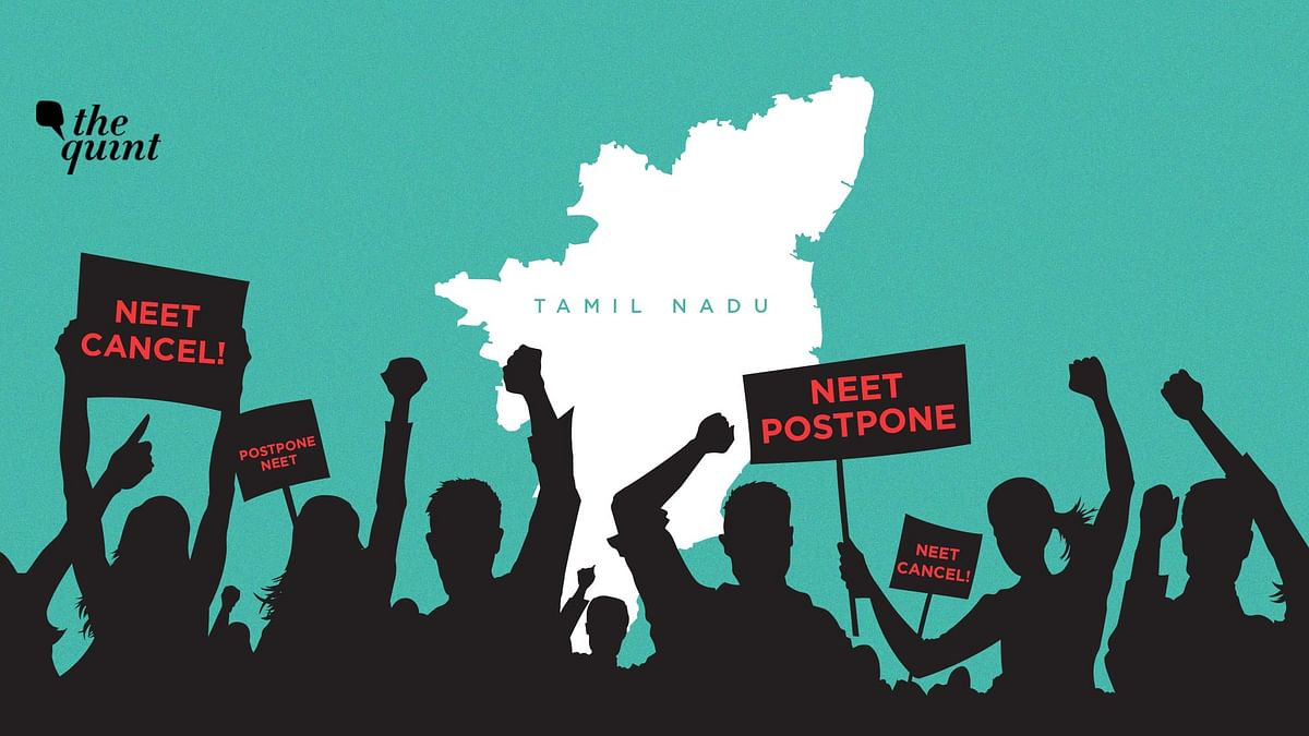 Medical aspirants are demanding postponement of NEET exam until the coronavirus situation improves in Tamil Nadu.