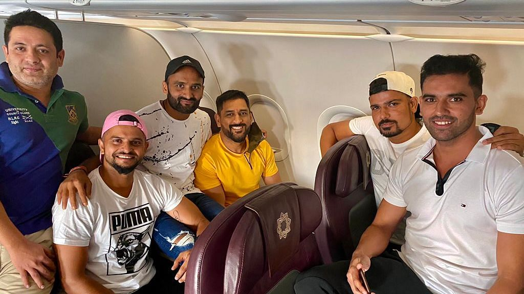 MS Dhoni departed for Chennai from Ranchi on Friday and will be part of the camp starting 20 August.