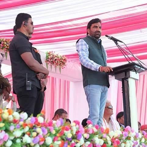 Hanuman Beniwal accused Raje of helping Ashok Gehlot