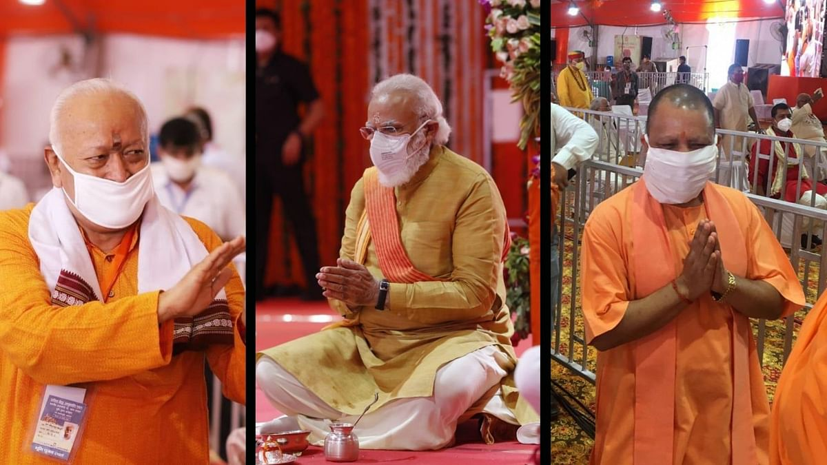 'India is Sentimental Today': PM Modi, UP CM Yogi on Ayodhya Event