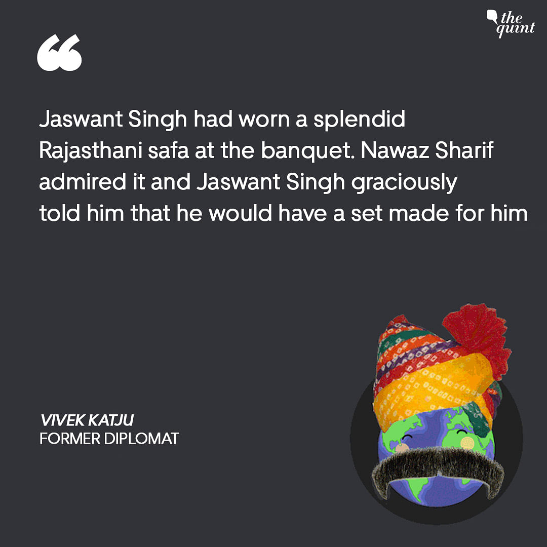 When Ex-Pak PM Sharif Became a 'Safa' Brother to Jaswant Singh