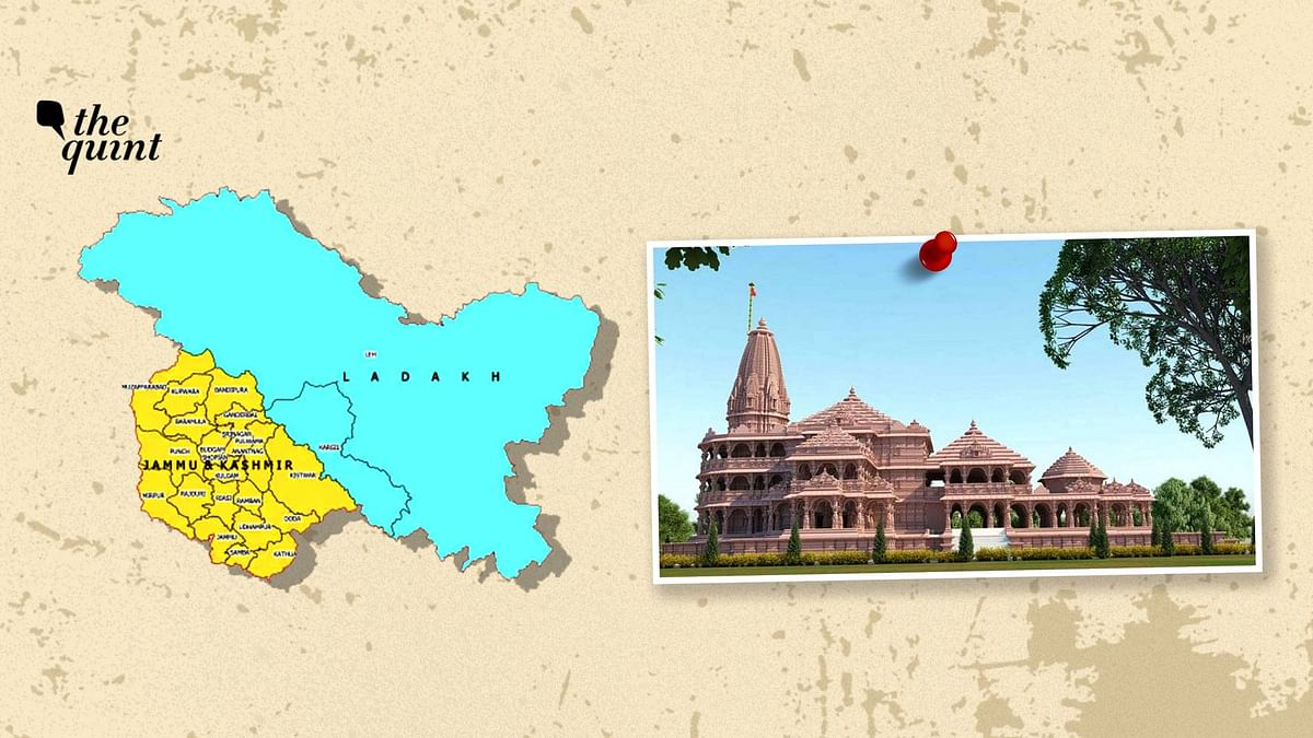The Quint's Newsletter: Dawn in Ayodhya, Same Old Dusk in Kashmir