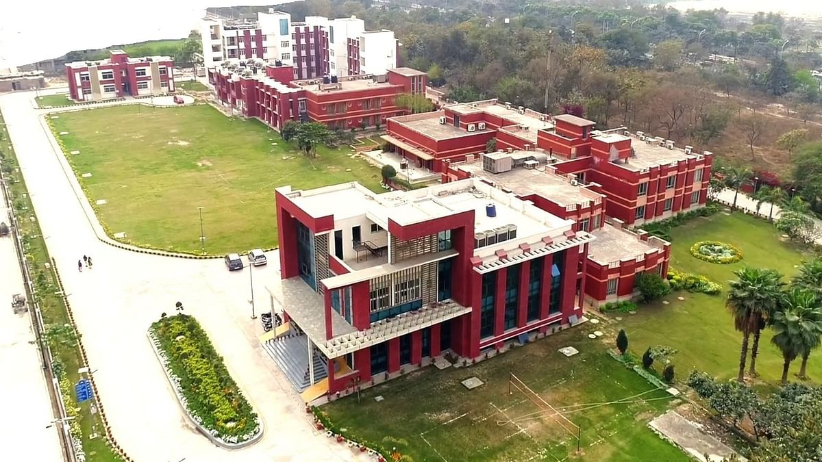 NCHMCT Campus.