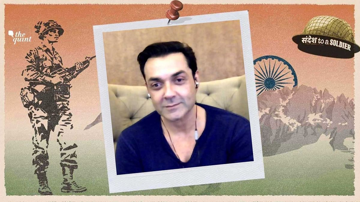 'Dear Soldier, Thanks For Keeping Us Safe': Actor Bobby Deol