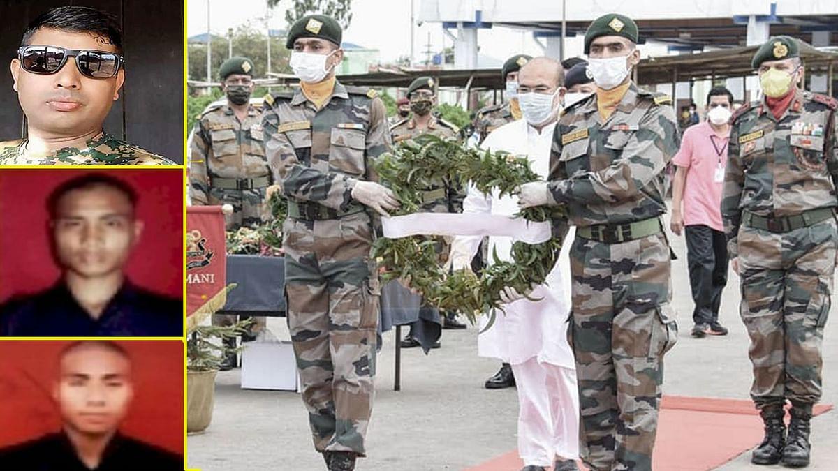 Assam Rifles jawans laid to rest.