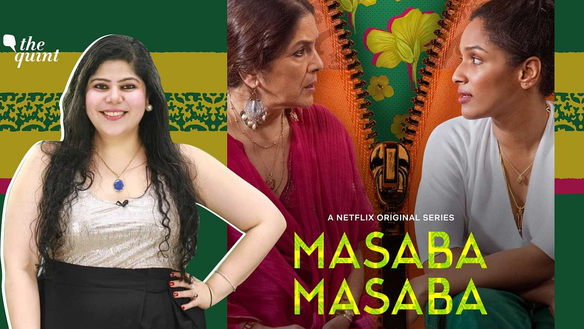 Stutee Ghosh Review of Masaba Masaba , A Netflix Original Series