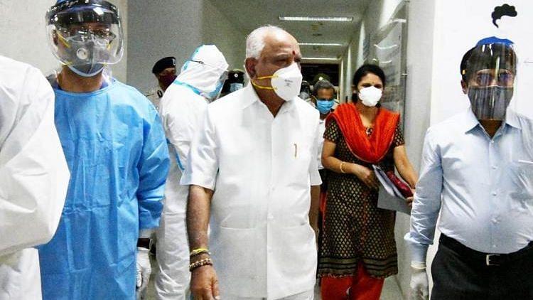 Karnataka Chief Minister BS Yediyurappa, on Monday, was discharged from Manipal Hospital
