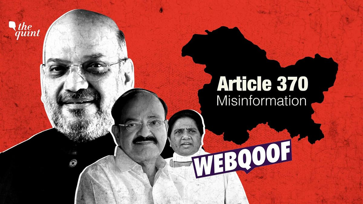 Article 370 and Misinformation: A Look at Viral Posts, Fake Claims