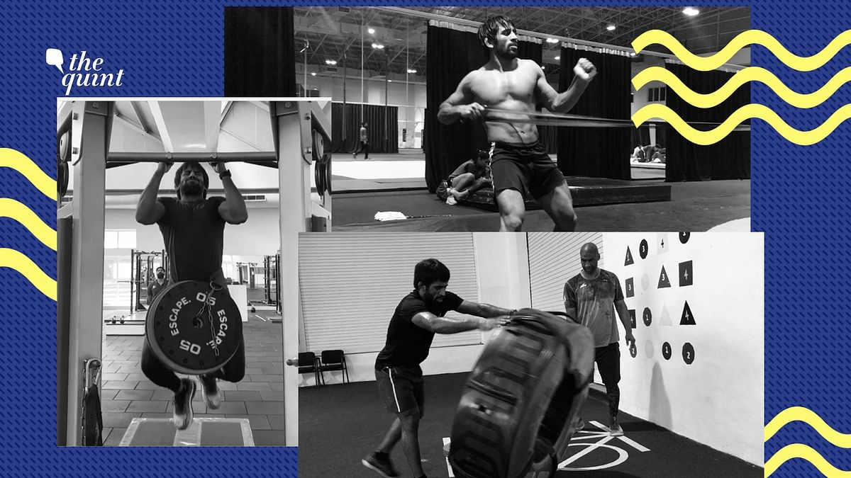 With No National Camps, Bajrang Punia Resumes Training on His Own