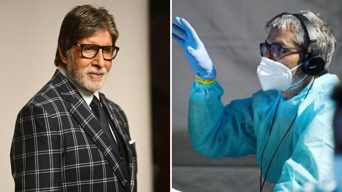 In a Sea of Blue PPE: Amitabh Bachchan Resumes Shooting for 'KBC'