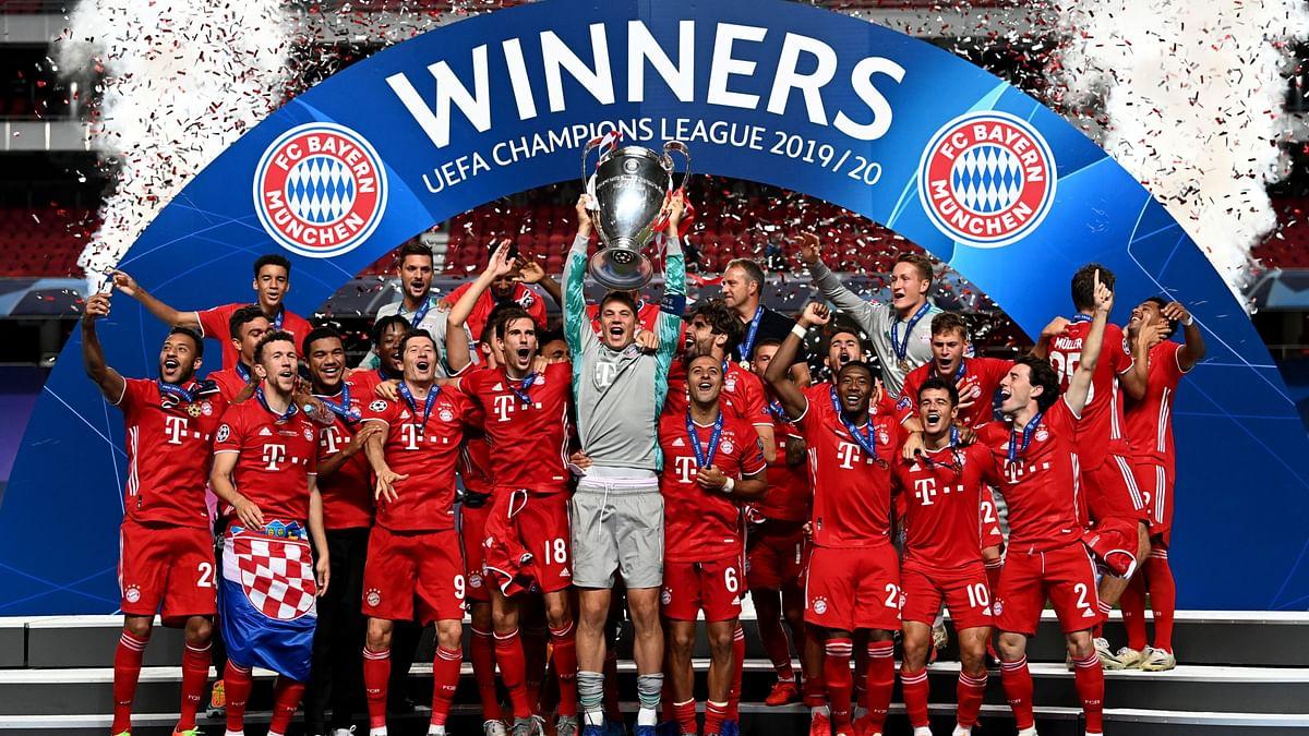 Bayern Munich beat Paris Saint-Germain 1-0 at the Estadio da Luz to win its sixth UEFA Champions League title.