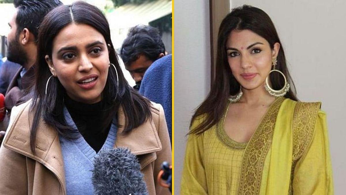 Swara Bhasker tweeted in support of Rhea.