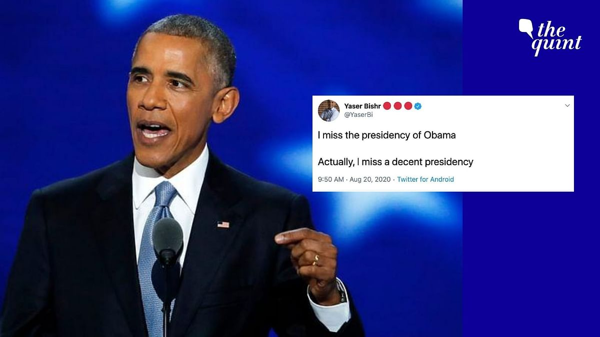 Former US President Barack Obama's bold and impassioned speech at the Democratic National Convention on Wednesday, 19 August has created great buzz on social media.