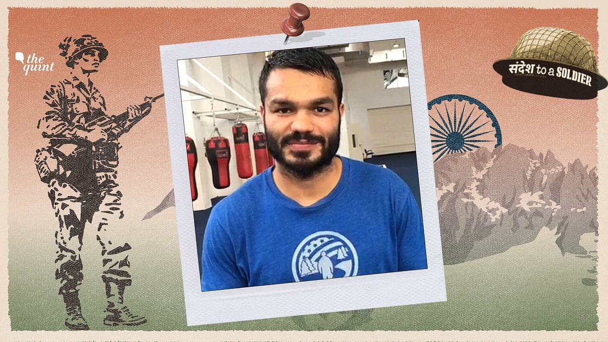 Dear Soldier, I Salute You From My Heart: Boxer Vikas Krishan