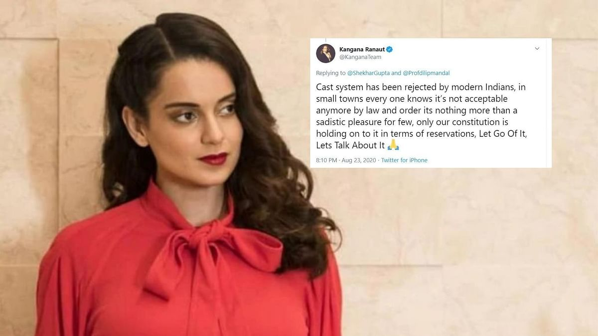 No, Caste is Not Dead: Twitter Hits Back at Kangana's Quota Remark