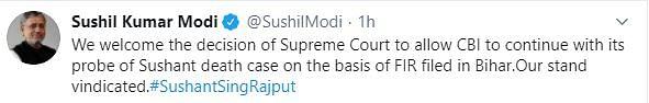 BJP, NDA Netas Hail CBI Probe for Sushant, Slam Maha Govt, Police