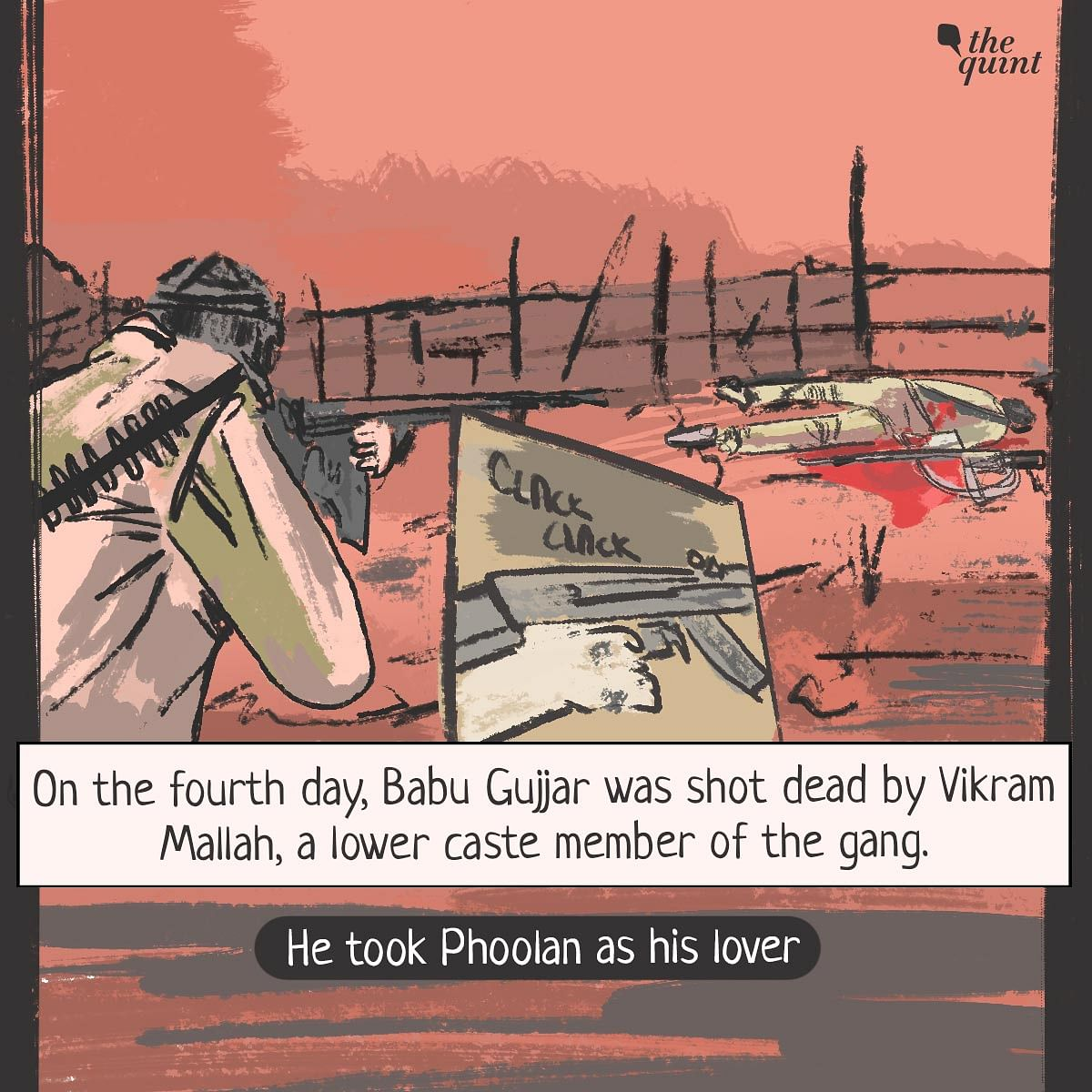 Graphic Novel: How Phoolan Devi Became India's 'Bandit Queen'