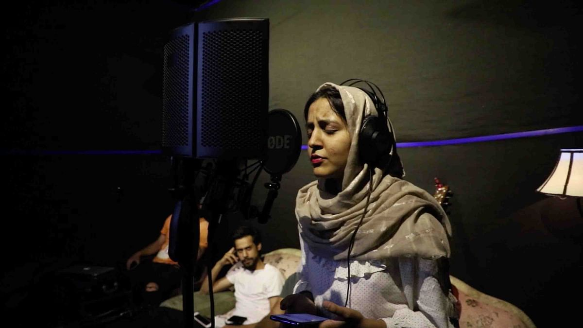 Nargis Khatoon is a singer-songwriter from Srinagar.