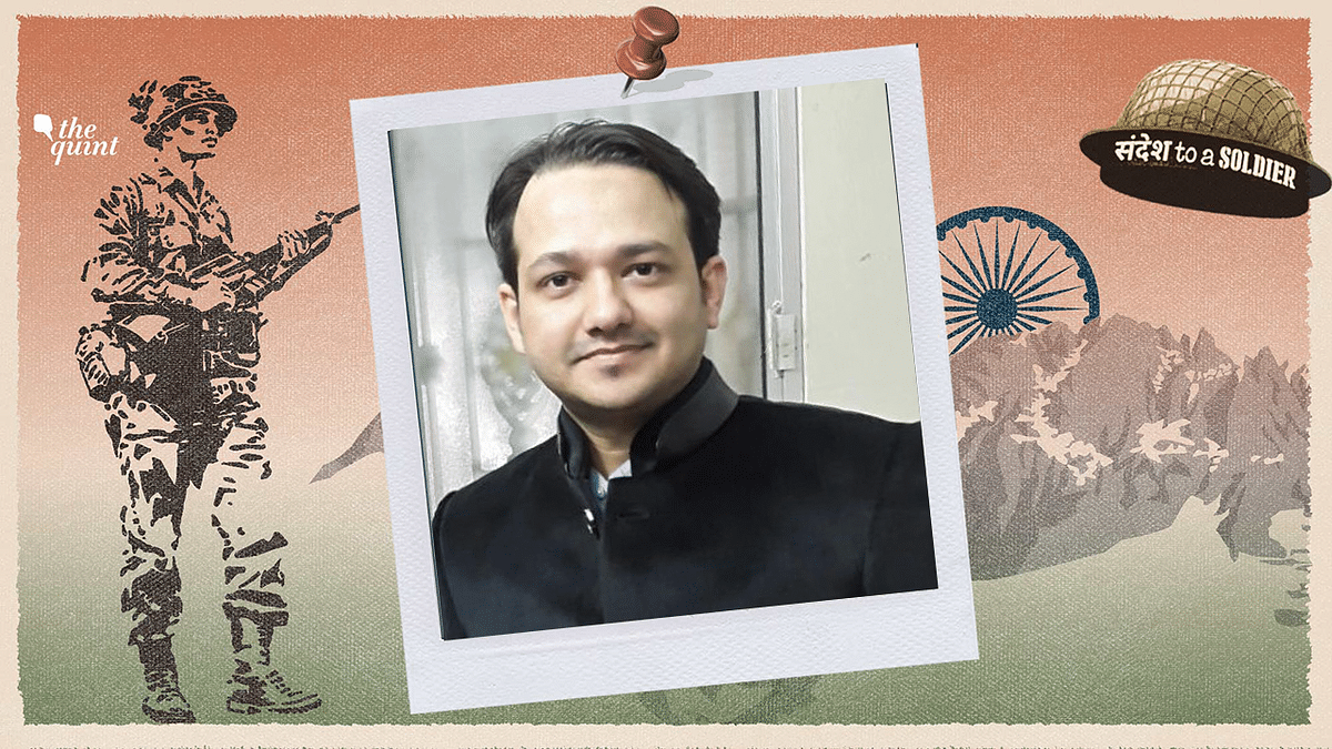 Shaharyaar Siddiqui Writes An 'Ode to a Soldier' In His Sandesh