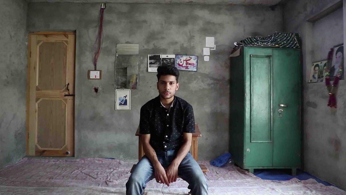 Mursaleen Abbas Mir studies in Class 10.