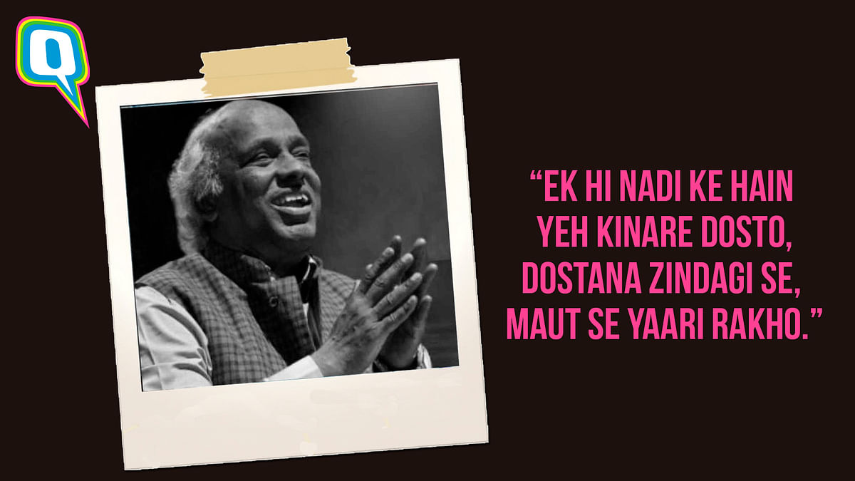 Rahat Indori's 10 Most Powerful Shayaris on Love, Life And More