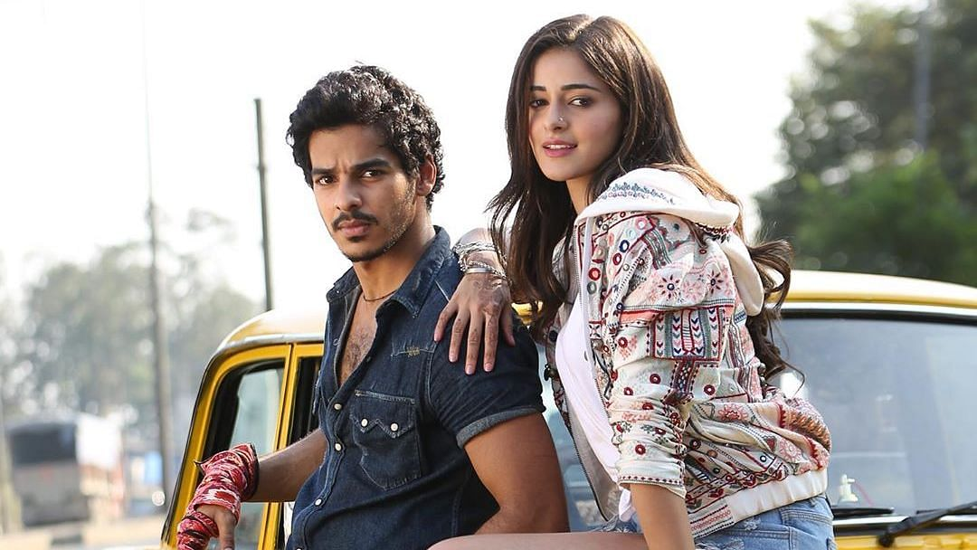 Ishaan Khatter and Ananya Panday in <i>Khaali Peeli</i>.