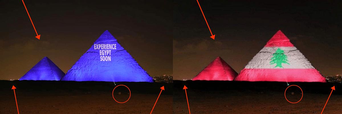 Left: Original image. Right: Photoshopped image.