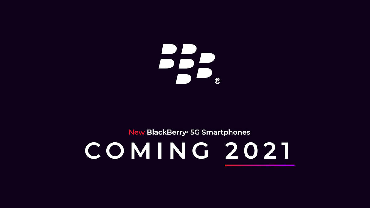 BlackBerry will launched the its new smartphone next year.