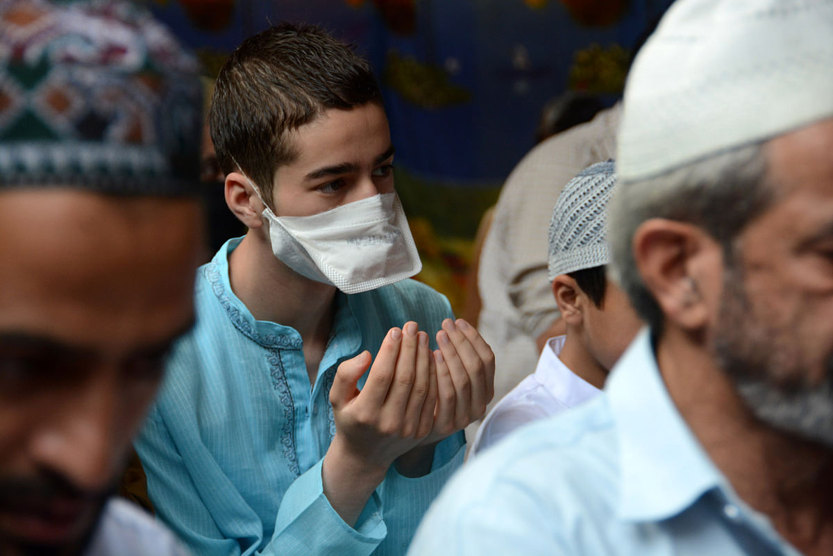 "The Valley witnessed a peaceful Eid amid COVID-19 restrictions. This is the third Eid since 2019 that Kashmir ""celebrated"" in a restrictive atmosphere."