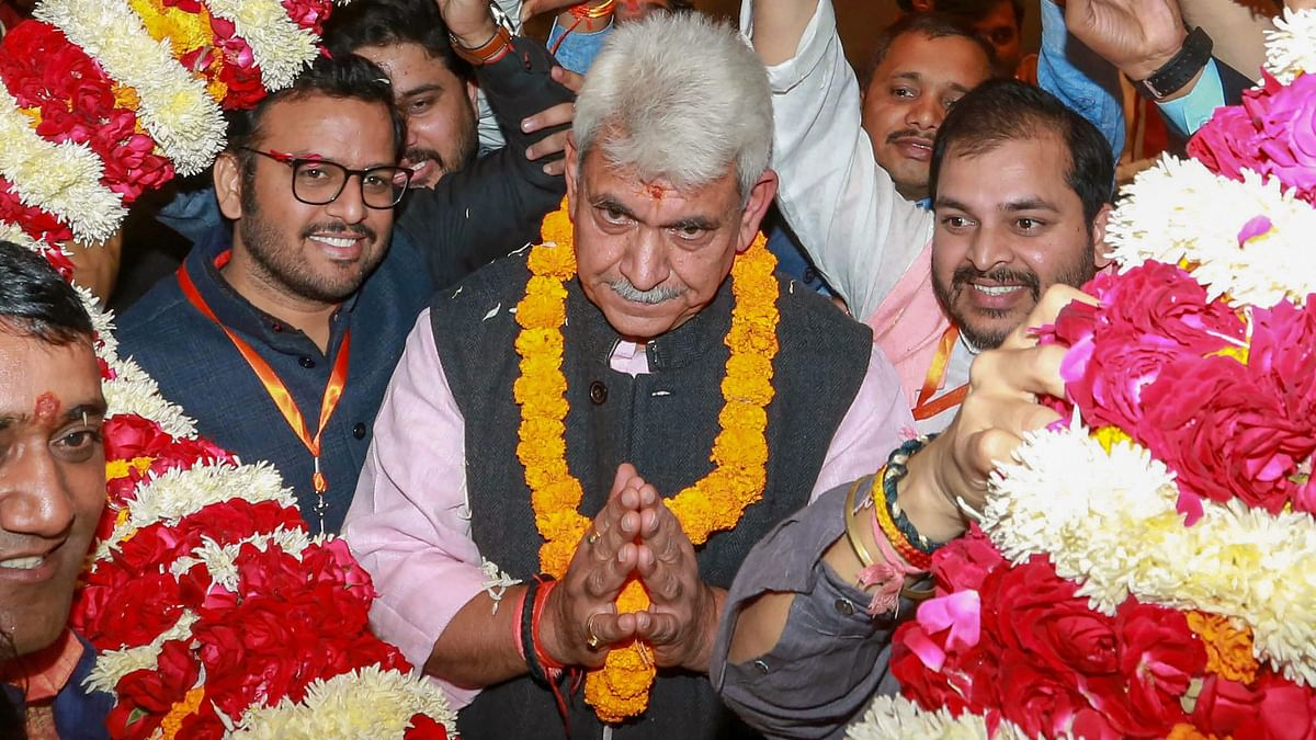 New J&K L-G Manoj Sinha Was Once Set to be UP CM