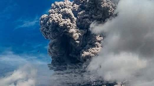 Indonesia Volcano May Spout Lava, Warn Officials After Ash Cloud