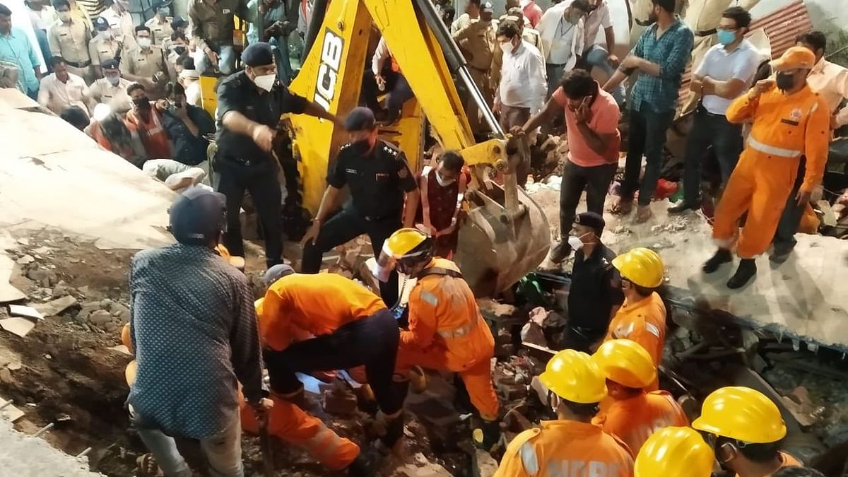 At least 2 people were killed after a two-storey building collapsed in the Lal Gate area of Madhya Pradesh's Dewas on Tuesday, 25 August.