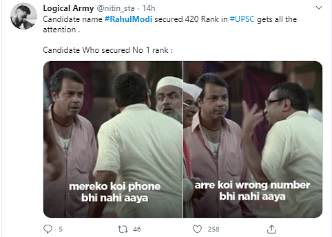 'Rahul Modi' Cracks UPSC Exams, Twitter Reacts With Memes