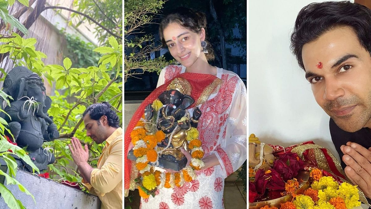 In Pics: Here's How Bollywood is Celebrating Ganesh Chaturthi